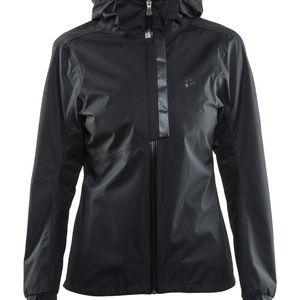NWT! Craft Windbreaker Riding Rain Jacket Black